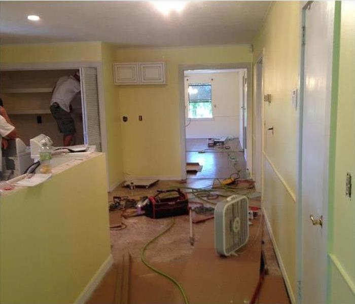Kitchen Fire- Reconstruction by SERVPRO of Pascagoula After